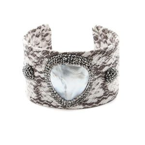 ✨Coming Soon✨ Snakeskin Bangle Bracelet